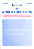 Journal of World Education
